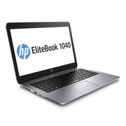 "HP® EliteBook Folio 1040 G2 14"" LCD Intel Core i5 180GB SSD, 8GB, Windows 7 Professional Ultrabook, Silver"