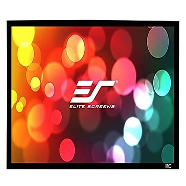 Elite Screens ER120WH1A1080P3 Sable Frame AcousticPro Projector Screen