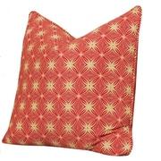 Tracy Porter Bohemia Accent Cotton Throw Pillow; Henna