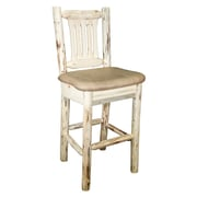 Montana Woodworks  Montana 30'' Bar Stool; Saddle