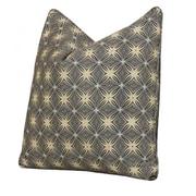 Tracy Porter Bohemia Accent Cotton Throw Pillow; Silvercloud