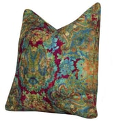 Tracy Porter Encha Accent Cotton Throw Pillow; Mulberry