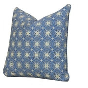 Tracy Porter Bohemia Accent Cotton Throw Pillow; Sapphire