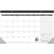"AT-A-GLANCE® 2017 Compact Recycled Desk Pad Calendar, 17-3/4"" x 10-7/8"", Bilingual"