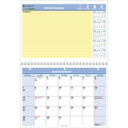 AT-A-GLANCE® 2017 QuickNotes® Monthly Recycled Wall Calendar, Bilingual