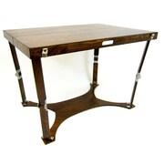 Spiderlegs Picnic Folding Dining Table; Dark Walnut