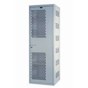 Hallowell Welded 1 Tier 1 Wide Security Locker; 18''W x 22''D x 72''H