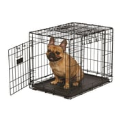 Midwest Homes For Pets Ovation Trainer Double Door Pet Crate; 30''