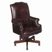 Seven Seas Seating Randall Leather Executive Chair; Campaign Brown