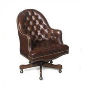 Seven Seas Seating Cleveland Leather Conference Chair; Derby Brown