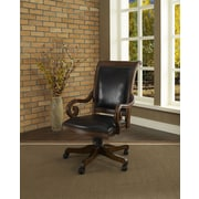 Strongson Furniture Lexington High-Back Leather Executive Chair with Arms