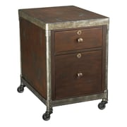 Hammary Structure 2-Drawer Mobile Rolling  Filing Cabinet