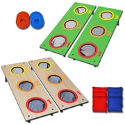 GoSports 14 Piece Washer Toss & Cornhole Game Set