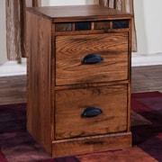 Sunny Designs Sedona 2 Drawer File Cabinet