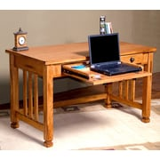 Sunny Designs Sedona Computer Desk with Keyboard Tray