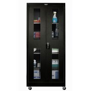 Hallowell 800 Series 48'' Mobile Storage Cabinet; Midnight Ebony