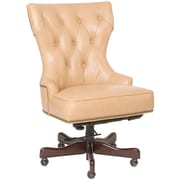 Hooker Furniture Leather Swivel Chair; Surreal Jarry