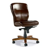 Hooker Furniture Leather Tilt Swivel Task Chair; Padovanelle Mogano