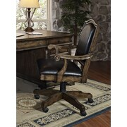 Turnkey LLC Chelsea High-Back Leather Executive Office Chair with Arms