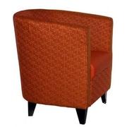 Beaufurn Braxton Lounge Chair; Cool/Natural Wood