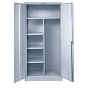 Hallowell 800 Series 2 Door Storage Cabinet; Platinum Antimicrobial