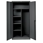 Hallowell 800 Series 2 Door Storage Cabinet; Midnight Ebony