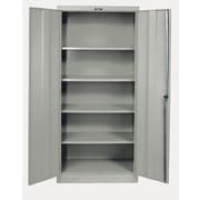 Hallowell 400 Series 2 Door Storage Cabinet; Hallowell Gray