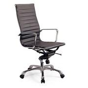 J&M Furniture Comfy Desk Chair; Brown