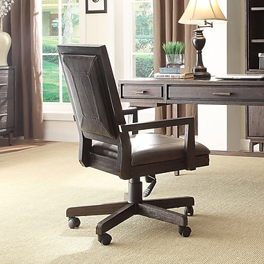 turnkey llc blair high back leather office chair with arms