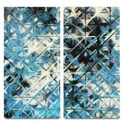 Vertuu Design Inc. Starscreen IV 2 Piece Painting Print on Canvas Set