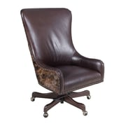 Hooker Furniture Leather Tilt Swivel Executive Chair; La Rabida Ranch