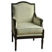 Crestview Huntington Linen Arm Chair