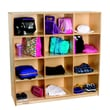 Childcraft 4-Section Cubby Mobile Storage Locker