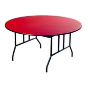 AmTab Manufacturing Corporation Round Folding Table; 29'' H x 42'' W x 42'' D