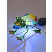 SunTime Outdoor Living Frog with Color Changing LED