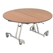 AmTab Manufacturing Corporation Round Folding Table; 29'' H x 60'' W x 60'' D