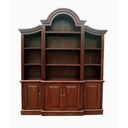 D-Art Collection Arch Top 92'' Oversized Set Bookcase