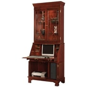 Jasper Cabinet Traditions Painted Computer Secretary with Hutch; Platinum
