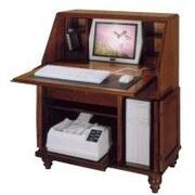 Jasper Cabinet Bahama Breeze Computer Secretary Desk; Autumn