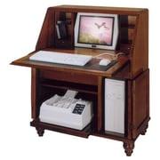 Jasper Cabinet Bahama Breeze Computer Secretary Desk; Timber
