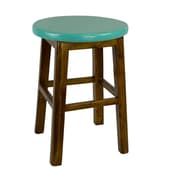 Antique Revival Andy's Stool; Turquoise
