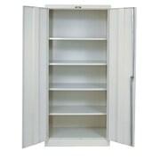 Hallowell 800 Series 2 Door Storage Cabinet; Parchment