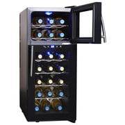 NewAir 21 Bottle Dual Zone Freestanding Wine Refrigerator