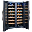 NewAir 32 Bottle Dual Zone Thermoelectric Wine Refrigerator