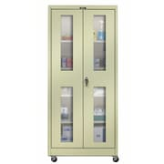 Hallowell 800 Series 36'' Mobile Storage Cabinet; Parchment