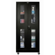 Hallowell 800 Series 36'' Mobile Storage Cabinet; Midnight Ebony