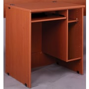Stevens ID Systems Library Computer Desk; Medium Oak