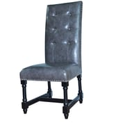 Crestview Camden Leather Side Chair