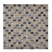 Legion Furniture Stone and Glass Mosaic Tile in Beige