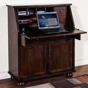 Sunny Designs Armoire Desk; Dark Chocolate